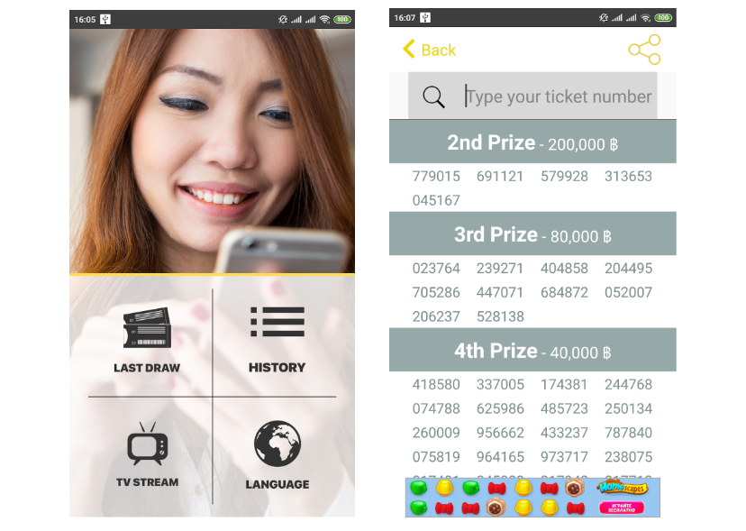 Thai/Laos  National Lottery